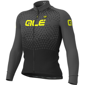 Alé Cycling Solid Summit Longsleeve Jersey Heren, black-grey